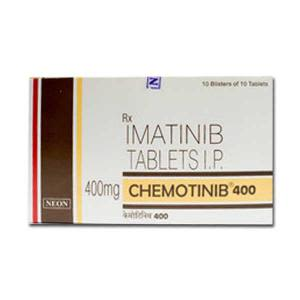 Chemotinib Imatinib 400 mg Tablets