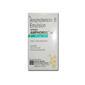 Amphomul Amphotericin B 50 mg Injection