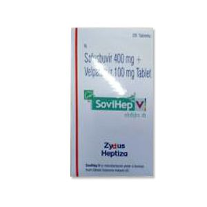 Sovihep V : Velpatasvir and Sofosbuvir Tablet 28'S