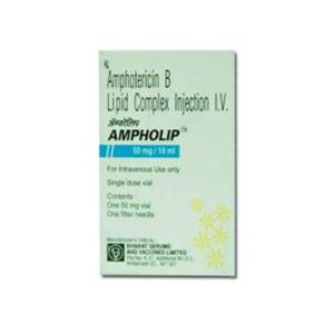 Ampholip Amphotericin 50mg Injection