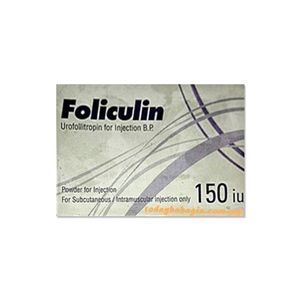 Foliculin Urofollitropin 150 HP Injection
