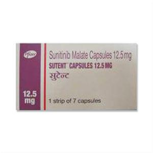 Sutent Sunitinib 12.5mg Capsules