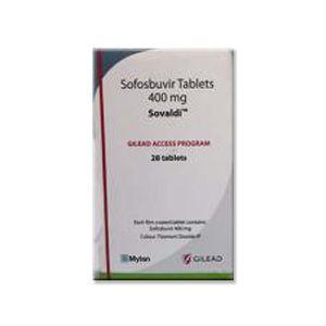 Sovaldi : Sofosbuvir 400 mg Tablet 28'S