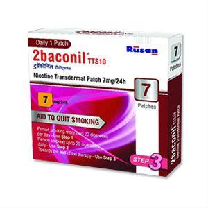 2baconil TTS10 Nicotine 7 mg