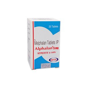 Alphalan 5mg Melphalan Tablets