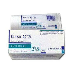 Benzac AC 2.5% Gel