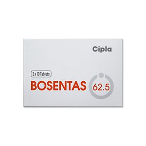 Bosentas Bosentan 62.5mg Tablets