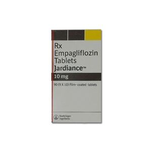 Jardiance :  Empagliflozin 10 mg Tablet 90'S