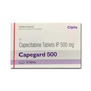 Capegard 500 mg Capecitabine Tablets
