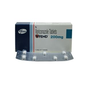 Vfend 200mg Voriconazole Tablets