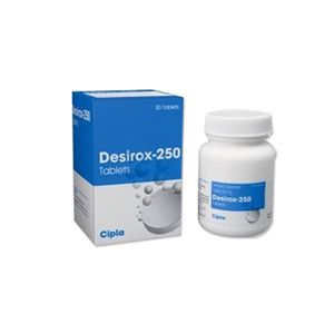 Desirox 250mg Deferasirox Tablets