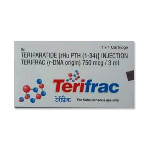 Terifrac 750mcg Teriparatide Injection