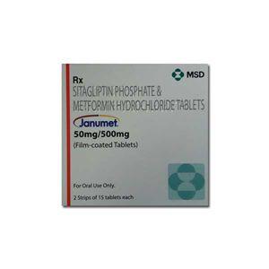 Janumet 50/500mg Tablets