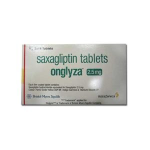 Onglyza 2.5mg Saxagliptin Tablets