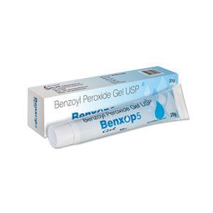 Benxop Benzoyl Peroxide 5% Gel