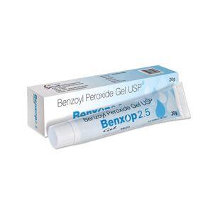 Benxop Benzoyl Peroxide 2.5 % Gel