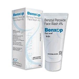 Benxop Benzoyl Peroxide 4% Face Wash