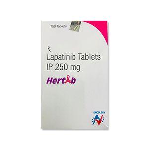 Hertab Lapatinib 250mg Tablet 150s
