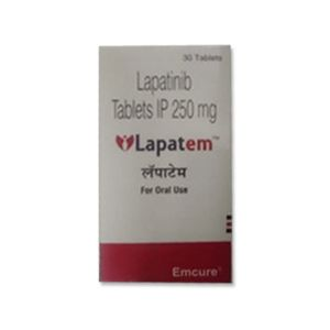 Lapatem 250mg Lapatinib Tablet 30s
