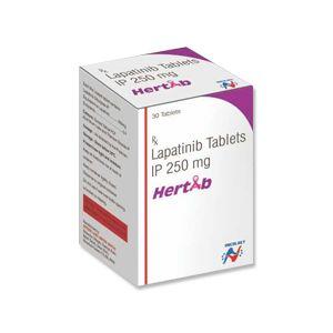 Hertab Lapatinib 250mg Tablet 30s