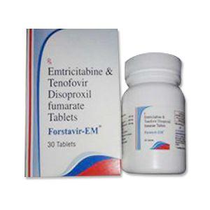 Forstavir EM : Emtricitabine & Tenofovir Tablets