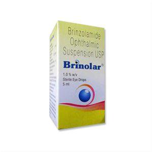 Brinzolamide Brinolar 1.0% Eye Drop