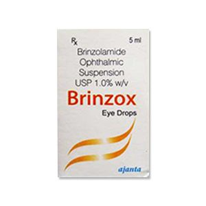 Brinzox Brinzolamide 1.0% Eye Drop
