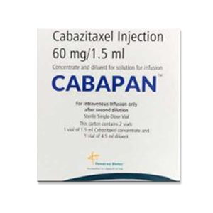Cabapan Cabazitaxel 60mg Injection