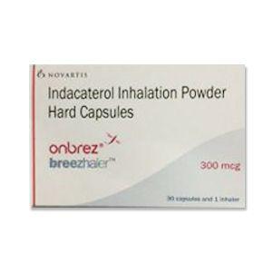 Indacaterol 300mcg Onbrez Breezhaler