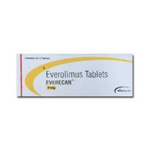 Everecan 5 mg Everolimus Tablets