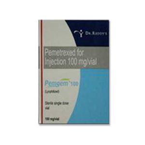 Pemgem Пеметрексед 100 мг инъекции