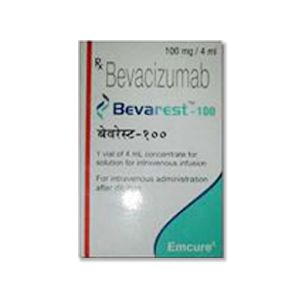 Bevarest Bevacizumab 100mg Injection