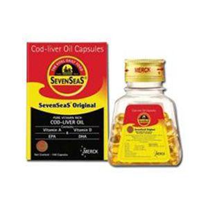 SevenSeas Cod Liver Oil Capsules