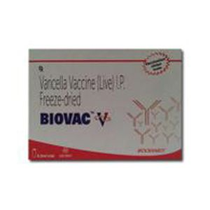 Biovac V Varicella Vaccine