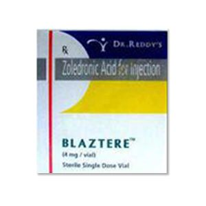 Blaztere Zoledronic Acid 4mg Injection
