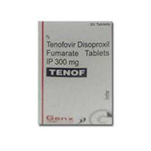 Tenof Tenofovir 300mg Tablets