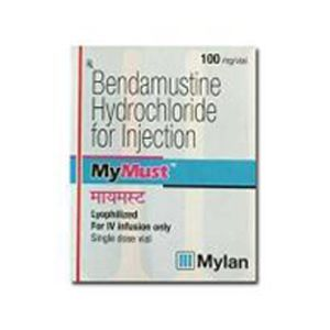 Mymust Bendamustine 100mg Injection