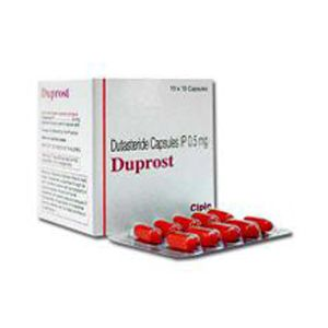 Duprost : Dutasteride 0.5 мг капсулы