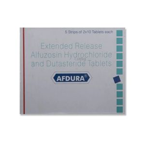 Afdura Alfuzosin & Dutasteride Tablets