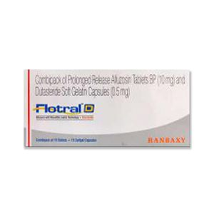 Flotral D Alfuzosin & Dutasteride Tablets