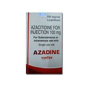 Azadine Azacitidine 100mg Injection