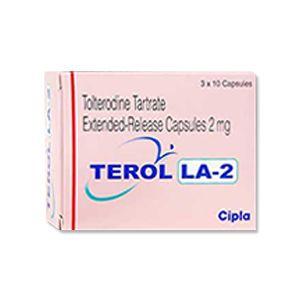 Terol LA-2 Tolterodine Tablets
