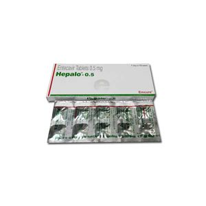 Hepalo 0.5mg Entecavir Tablets
