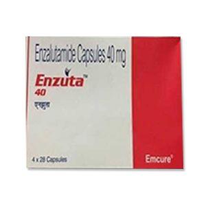 Enzuta Enzalutamide 40mg Capsules