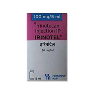 Irinotel : Иринотекан 100 мг / 5 мл Инъекция
