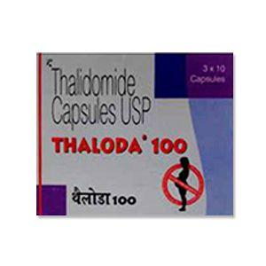 Thaloda Thalidomide 100mg Capsules