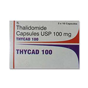 Thycad Thalidomide 100mg Capsules