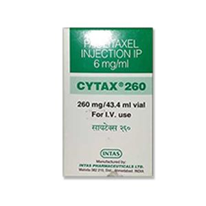 Cytax Paclitaxel 260mg Injection