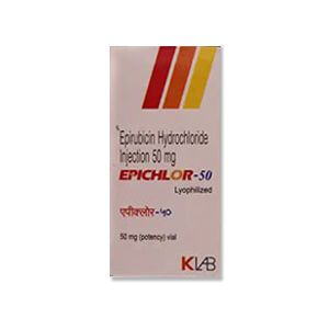 Epichlor Epirubicin 50mg Injection