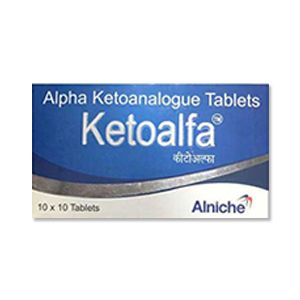 Ketoalfa : Alpha Ketoanalogue 200 мг таблетки